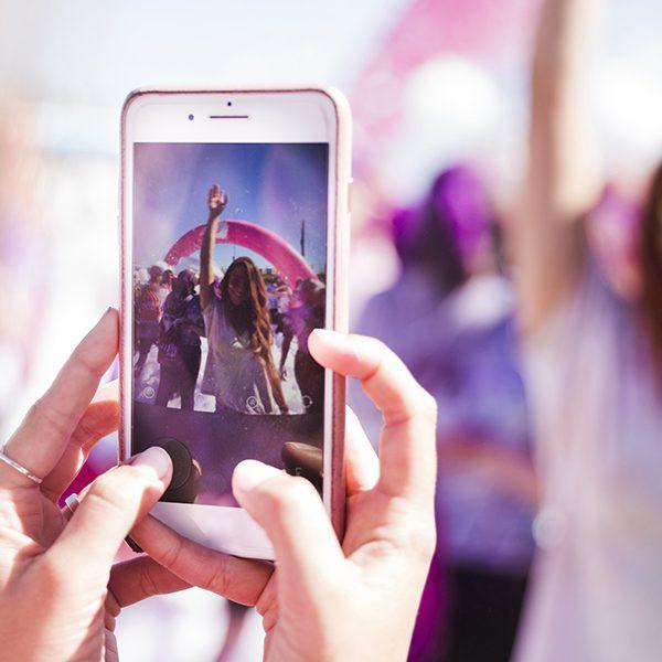 foto teléfono festival